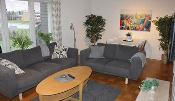Central villa i Mörrum 90 m2, 3 sovrum 6 Bäddar.