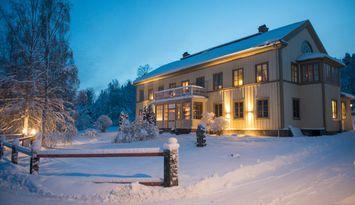 A 125m² dwelling, Lôkes Hälsingegård in Järvsö
