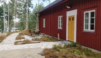 Nybyggt Sjönära hus i Smålands Trädgård!
