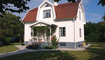 Kalkverputzt villa im Norden der insel Gotland