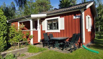 Stuga på Sollerö semesterby