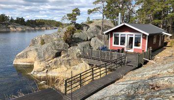 Stuga 4 + 2 (+3) bäddar på Södra Stavsudda, Värmdö