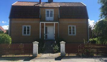 Hus med orangeri i Visby