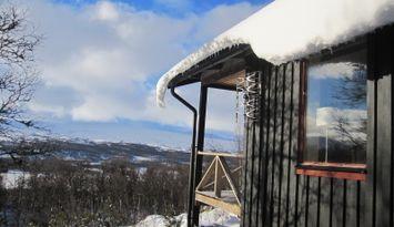 Tänndalen-Fjällnäs, modern cottage including boat
