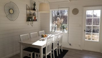 Nybyggt hus på landet i vackra Bohuslän