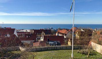 Trea med balkong och bästa utsikten i Visby!