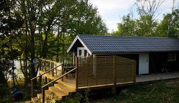 Underbar stuga i mitt i Ronneby skärgård