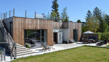 Lärkhuset Kolvik, högklassigt arkitektritat hus