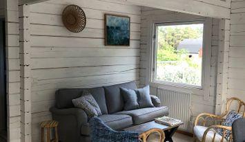 Fint hus i mysiga Rute Valleviken med 7-8 bäddar