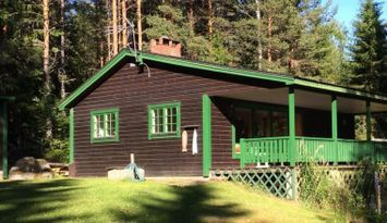 Fritidshus vid sjön Värmeln, Brunskog, Arvika.
