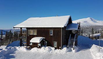 Modernt boende i Åre Björnen, Räven med ski in/out
