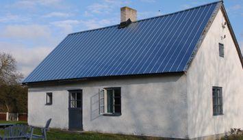 Kalkstenshus på sydöstra Gotland