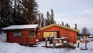 Gebirgshütte mit Ski-in/Ski-out in Gräftåvallen