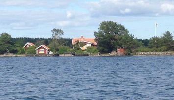 Private island in the Västervik archipelago