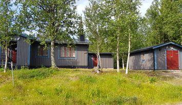 Mysig och bekväm stuga i Grövelsjön, norra Dalarna