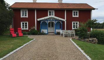 Unikt hus / Stuga i Småland från 1800-talet