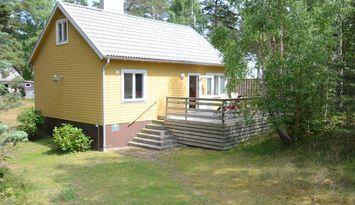 Stor stuga nära hav och hamn i Äspet, Åhus 55+30m2