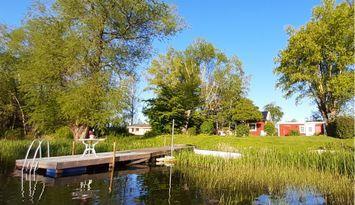 Sjötomt med egen brygga nära centrala Linköping