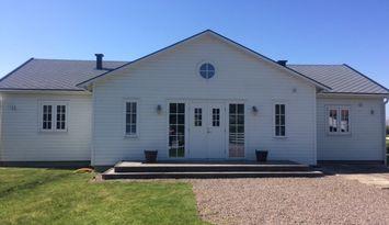 New Englandstil-Sommerhaus, Neubau, in Skummeslöv