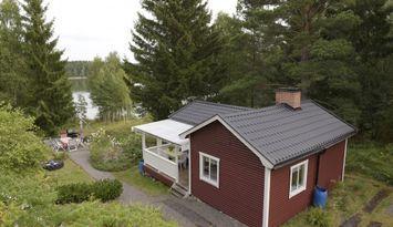 Cottage with lake view, pontoon, rowboat, mulltoa