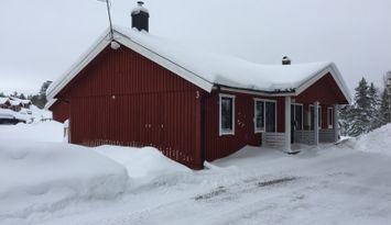 Fin Stuga i Tandådalen med Utsikt mot Hundfjället