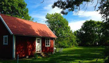 Traditional Swedish cottage on Öland