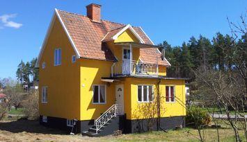 Villa Saltkrokan (Wifi, Bastu, Bat, Diskmaskin)