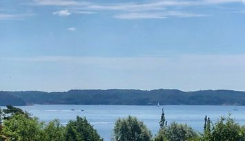 Outstanding view over Gullmarsfjorden at Lysekil