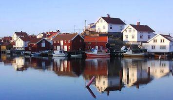 Hus på Gullholmen 50 m från badbrygga