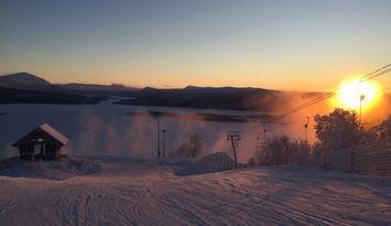 Riktig Ski in Ski out Tärnaby lägenhet