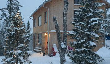 Arkitektritat fjällhus i härliga Edsåsdalen, Åre