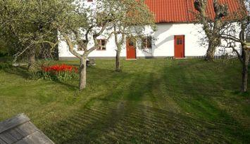 Kalkstenshus från 1700talet Rute Norra Gotland