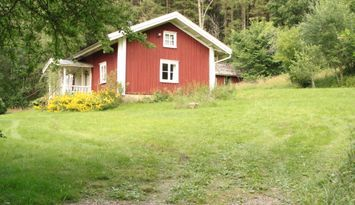 Swedish cottage near the forest