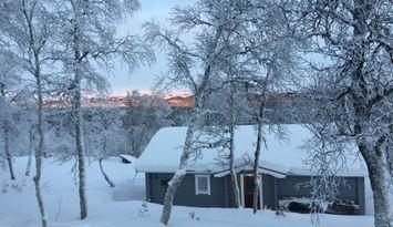 Klassisk fjällstuga i natursköna Ljungdalen.