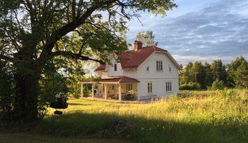 Härlig semester helt sjäv på fin gård i Norrland